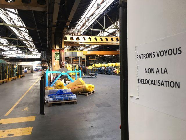 Intérieur de l'usine SEMPERIT