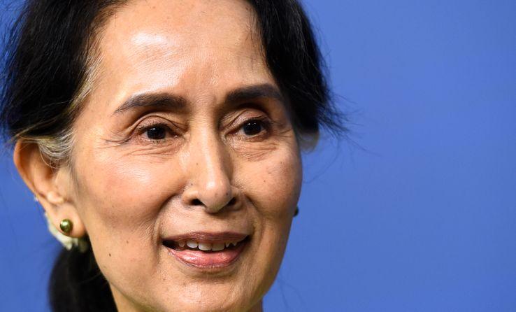 Aung San Suu Kyu, 12 juin 2017