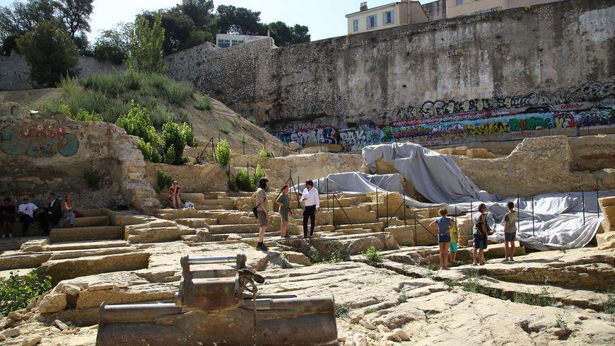 Le site antique de la Corderie cache des vestiges archéologiques datant du 5e siècle avant J-C