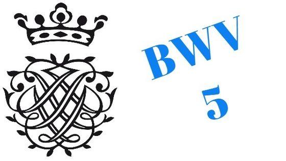 Monogramme de Bach - BWV 5