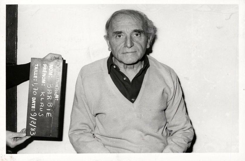 Klaus Barbie dans sa cellule à Montluc, en 1983