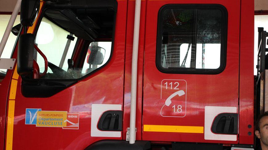 Camion des pompiers de Vaucluse