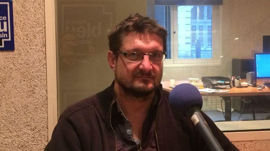 Sylvain Roch a pris récemment la tête de la CGT en Corrèze et la succession de René Peyrical.