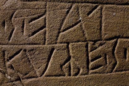 Registre de populations euganéennes - 4e 2e siècle avant JC
