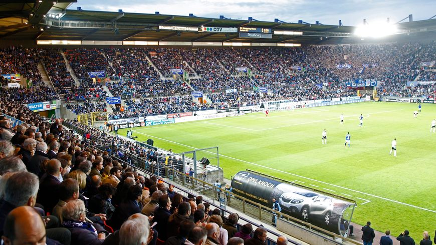 Ambiance stade de la Meinau Strasbourg