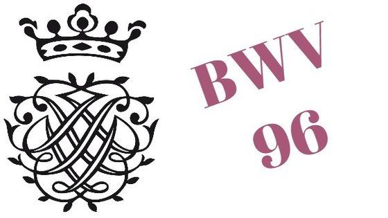 Monogramme de Bach - BWV 96