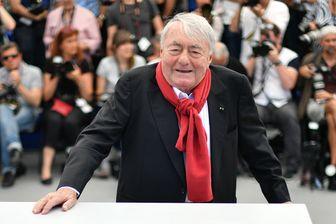 Claude Lanzmann le 21 mai 2017 lors d'une photocall pour le film 'Napalm' à la 70ème édition du Festival de Cannes à Cannes