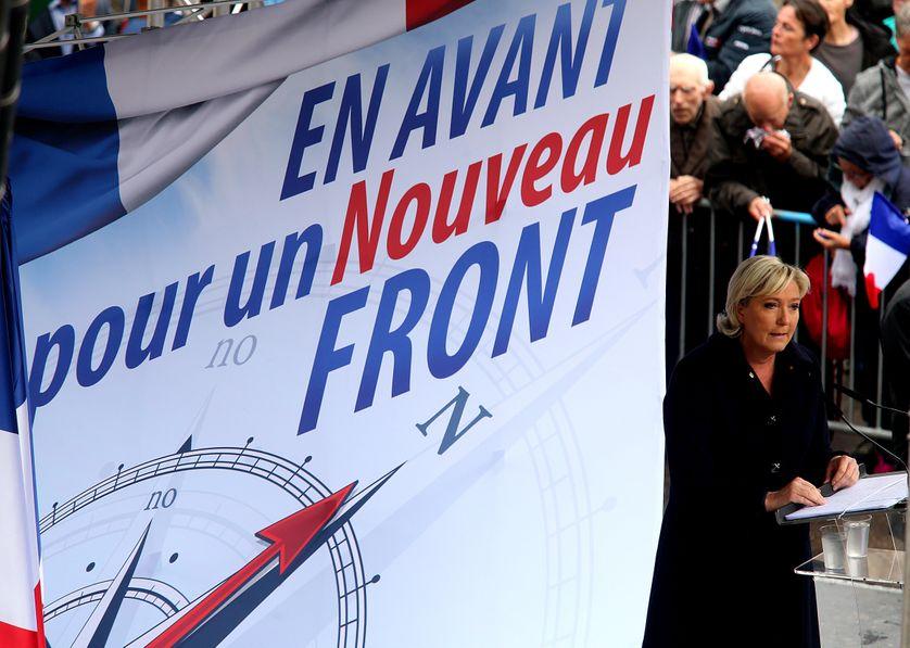 Marine Le Pen a annoncé samedi que le Front national allait changer de nom.