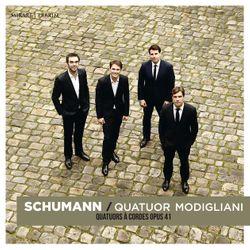 Album Schumann du Quatuor Modigliani