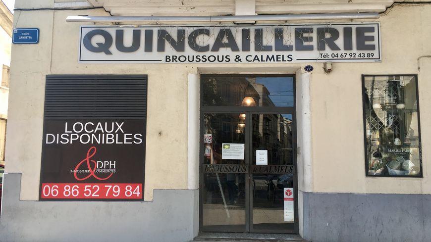 La quincaillerie Broussous et Calmels pourrait disparaître d'ici quelques mois.