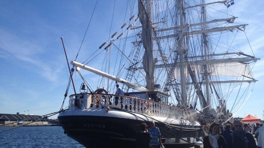 Le Belem fait escale à Saint-Malo. Les visites sont possibles ce dimanche entre 10 heures et 17h30