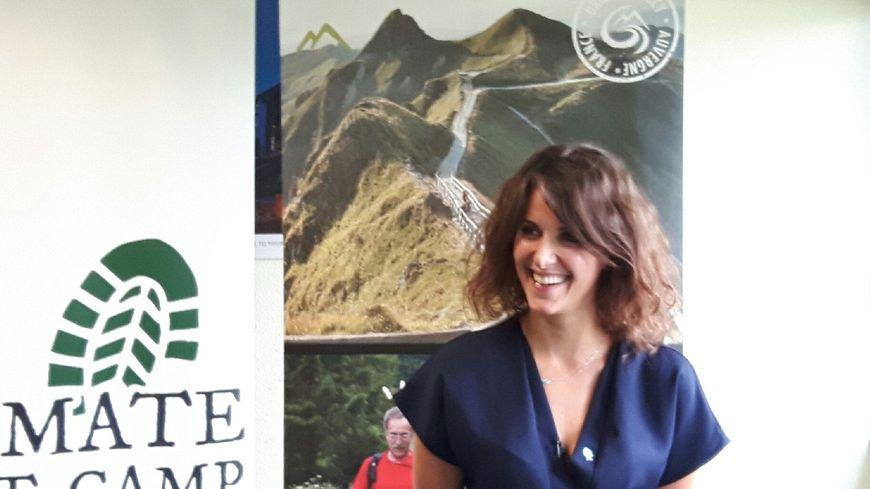 Fanny Agostini, conseillère municipale de La Bourboule et organisatrice du Climate Boot Camp