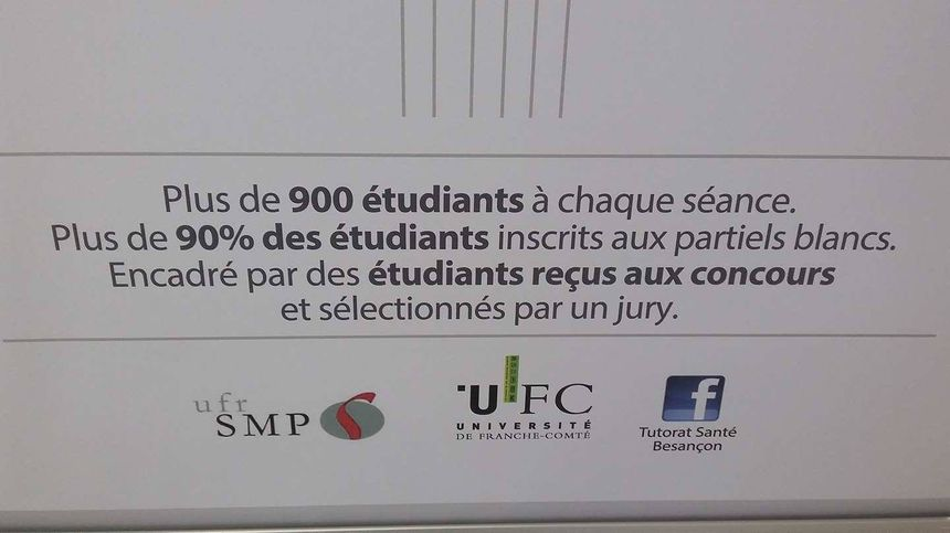 Pour réussir sa première année de médecine, le Tutorat Santé Besançon propose un accompagnement au concours.
