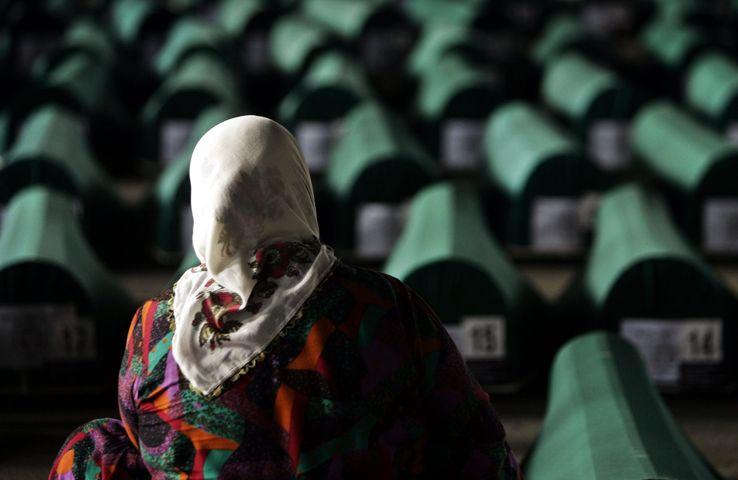 En 2005, les corps de 610 victimes du massacre de Srebrenica en 1995 ont été découverts.