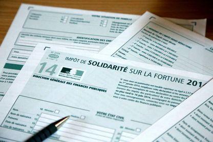 ISF,  Impôt de Solidarité sur la Fortune, image d'illustration.