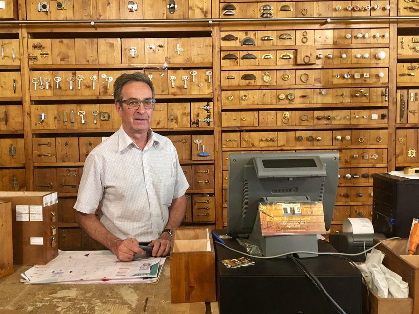 Patrice Baudon, le gérant, travaille ici depuis plus de 30 ans.