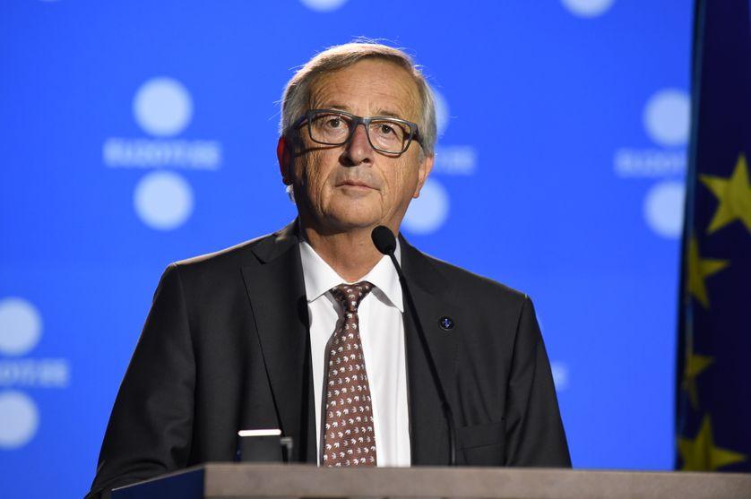 Jean-Claude Juncker au sommet européen de Tallinn