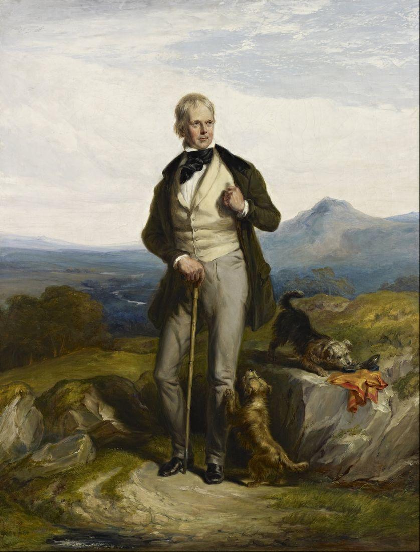 Sir Walter Scott, 1771 - 1832, poète et romancier
