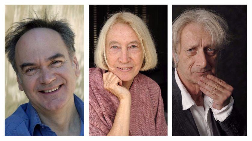 Hervé le Tellier, Chantal Thomas et Patrick Deville