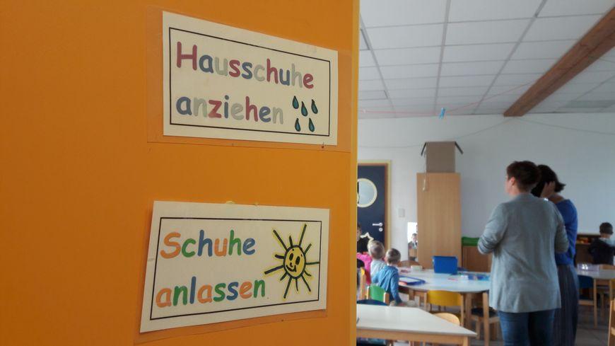 L'école ABCM Zweisprachigkeit à Haguenau, le 4 septembre 2017