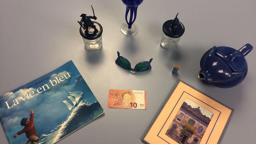 10 € de bibelots bleus à la Braderie de Lille !