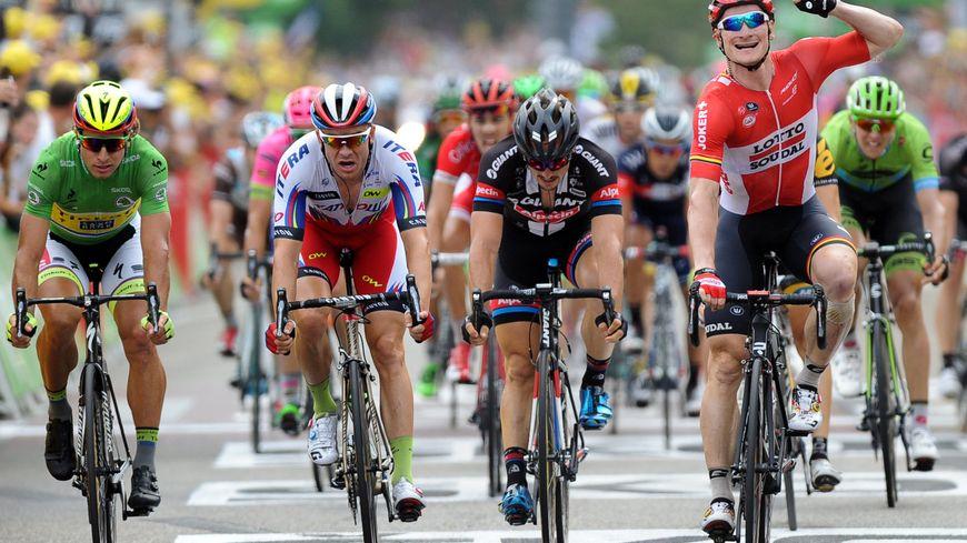 L'allemand André Greipel avait remporté la 15ème étape du Tour de France à Valence