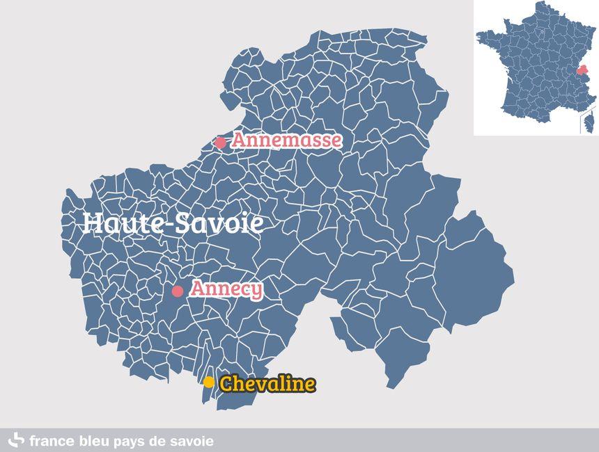 Chevaline, en Haute-Savoie