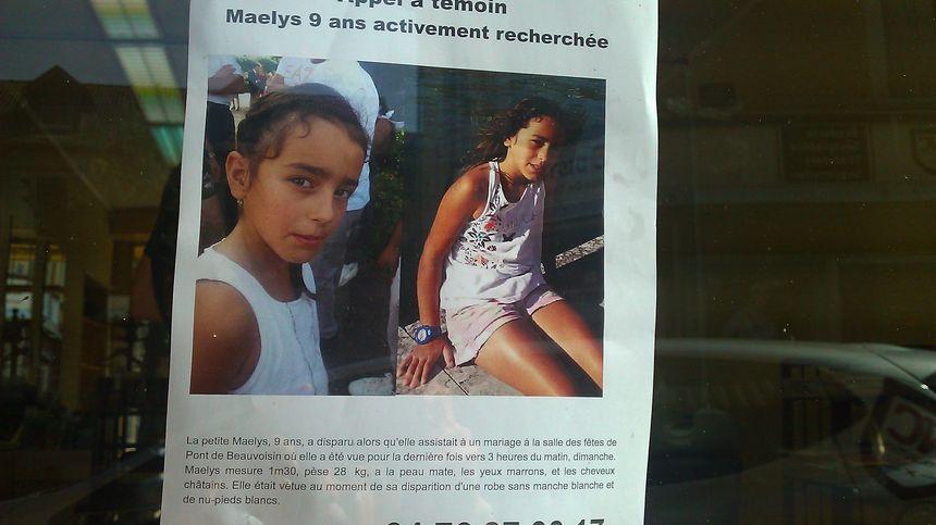Maëlys, 9 ans, a disparu dans la nuit du 26 au 27 août.
