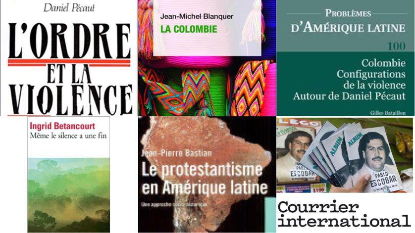 Livres et articles sur la Colombie et l'Amérique Latine