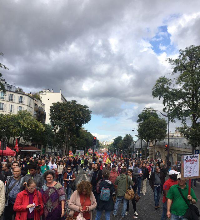 Manifestation du 12 septembre contre la Loi Travail