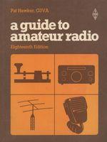"""Couverture du livre """"A guide to amateur Radio"""""""