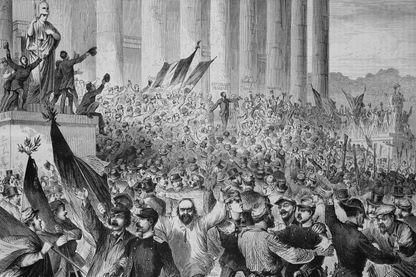 Proclamation de la République française
