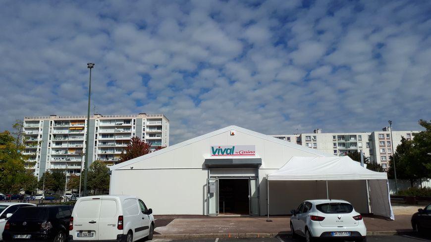 Le Vival a ouvert à quelques mètres de l'ancien Spar.