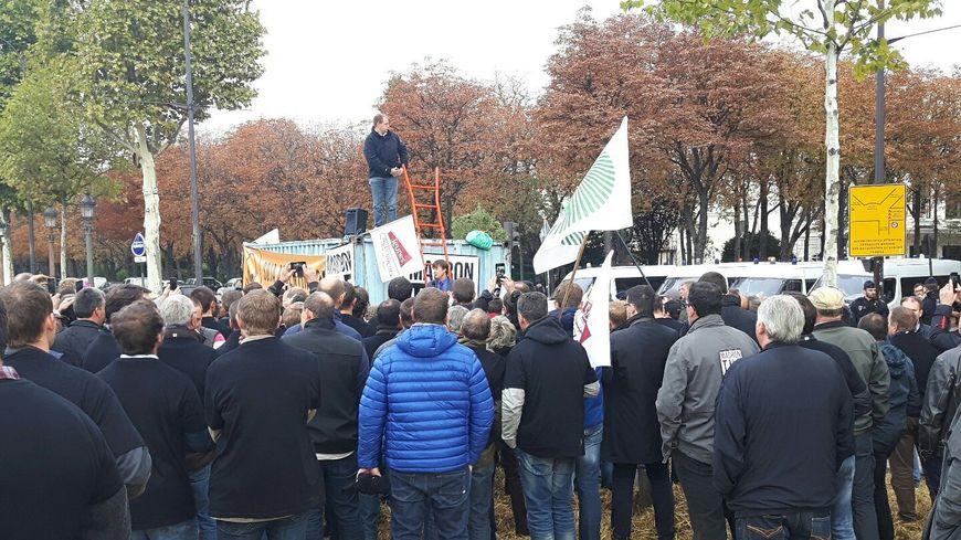 Les agriculteurs ont reçu la visite de Nicolas Hulot en milieu de matinée