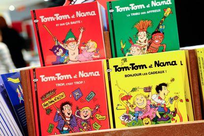 """""""J'aime lire"""" fête ses quarante ans. Ici Tom-Tom et Nana, une BD qui paraît dans le magazine jeunesse depuis les débuts."""