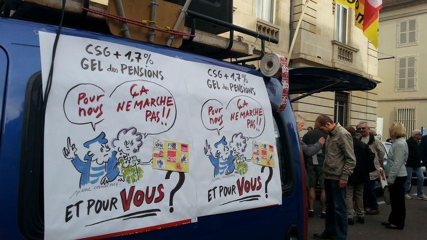 A Dijon Les Retraites Mobilises Contre La Hausse Annoncee