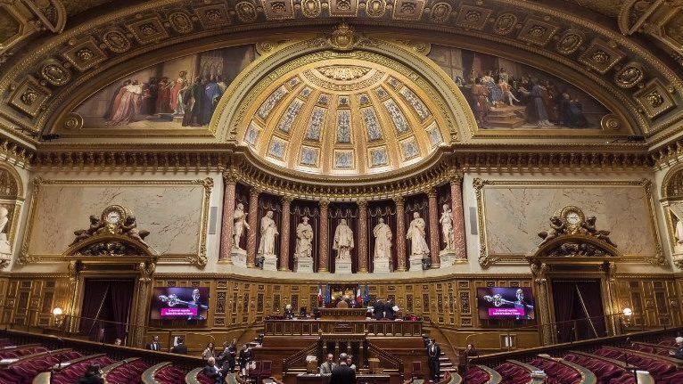 Le Sénat siège au palais du Luxembourg, à Paris