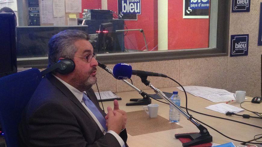Olivier Bianchi, invité spécial de la matinale du jeudi 14 septembre sur France Bleu Pays d'Auvergne