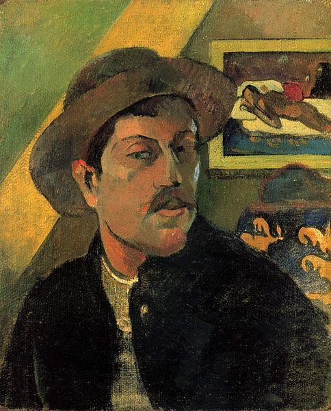 Autoportrait, 1893, musée d'Orsay, Paris.