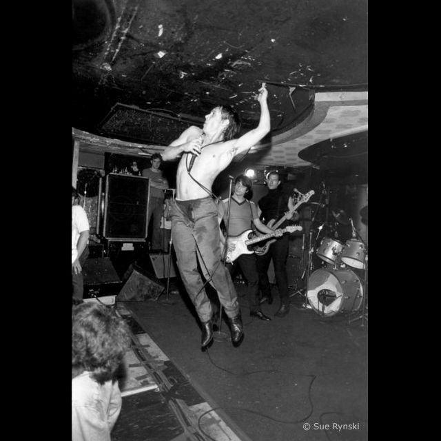 Iggy Pop Bookies club 870, Détroit 1980