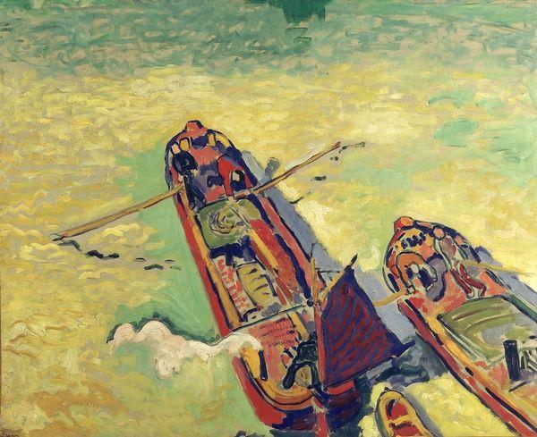 André Derain, Les deux péniches, 1906. Crédits : Centre Pompidou