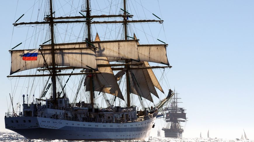 Le Mir est l'un des plus grands voiliers du monde