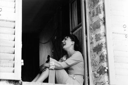 """Jeanne Moreau en juillet 1965 dans le film """"Mademoiselle"""" de Tony Richardson"""