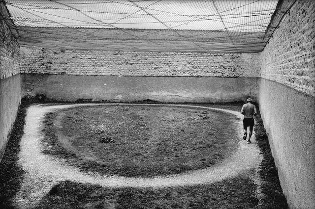 Prison de Clairvaux, Aube, 1998