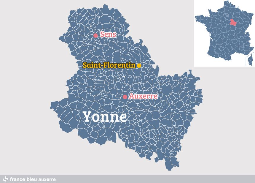 Saint-Florentin, dans l'Yonne