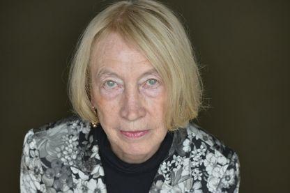 Portrait de l'écrivain Chantal Thomas le 14 juin 2013 à Paris.