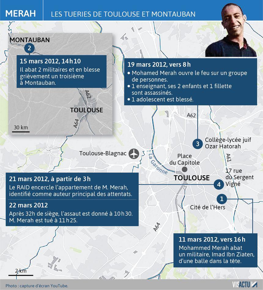 Mohamed Merah : retour sur les tueries de Toulouse et Montauban