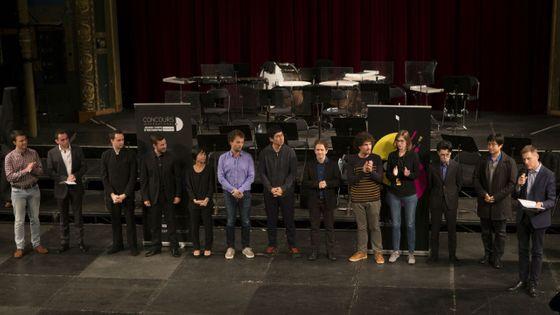 Les candidats sélectionnés à l'issue du premier tour du Concours International de Jeunes Chefs d'Orchestre de Besançon
