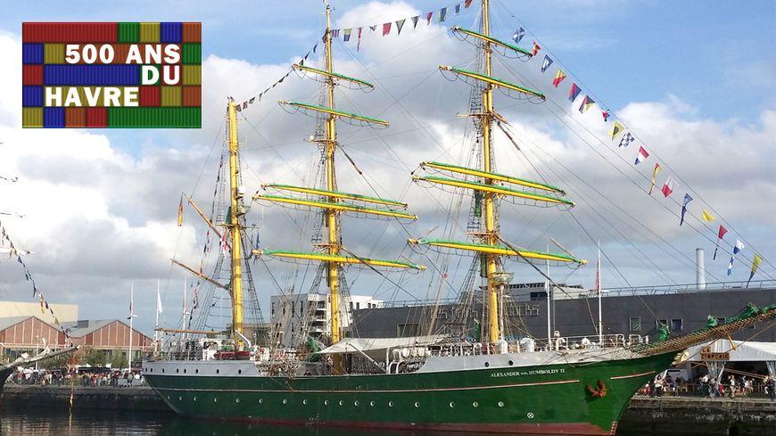 Alexander Von Humboldt II - Les Grandes Voiles du Havre
