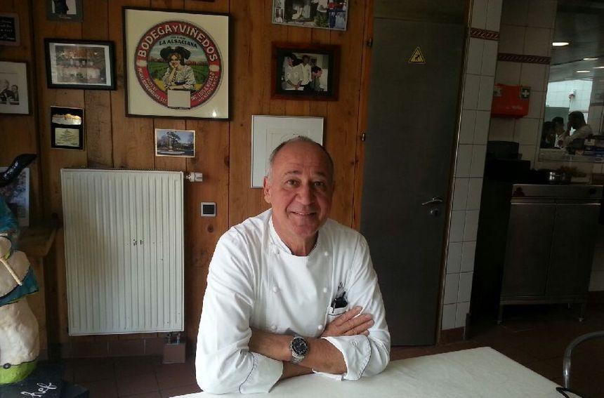 Marc Haeberlin, le chef de l'Auberge de l'Ill.